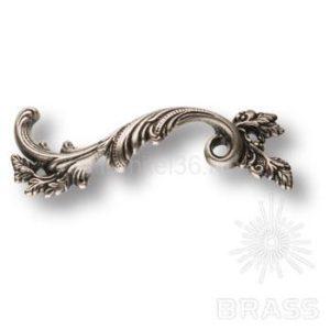 Ручка скоба классика, старое серебро  96мм