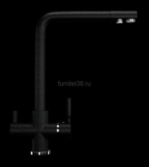 Смеситель Ulgran 016(308), черный