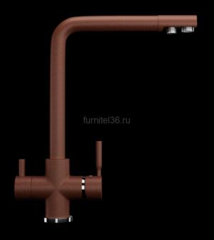 Смеситель Ulgran 016(307), терракот