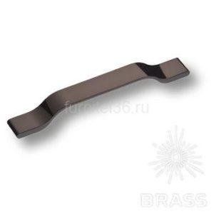 Ручка скоба модерн,  черный  никель  192мм