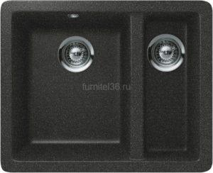 Мойка SCHOCK Quadro 60 Plus (N-150), Cristalite Оникс