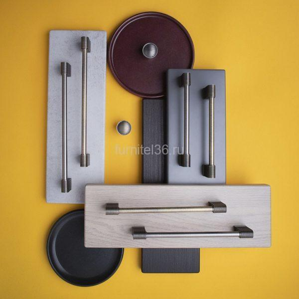 Ручка-скоба EL-7220 160 мм, атласное серебро