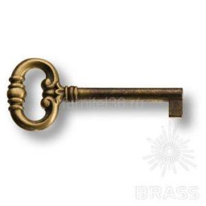 Ключ мебельный, античная бронза