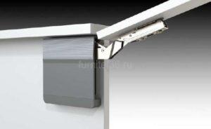 Подъемник TOP STAY SQ индекс 960-2040 (h400-500) с загл., серый (SQ00AM02B)