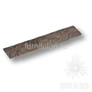 Ручка скоба модерн, античное серебро  128мм