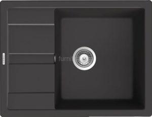 Мойка SCHOCK Optima 50D, Cristalite 650*500, Оникс
