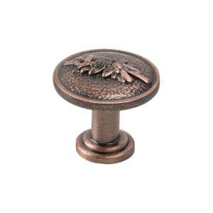Ручка-кнопка, RK-001, медь