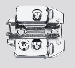 Монжажная планка п/петлю DTC Click-On PIVOT STAR 3D,  H-0 (81T00TQ)