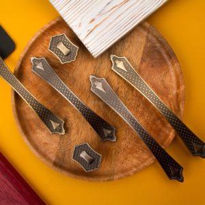 Ручка-скоба EL-7190   96 мм, атласное серебро
