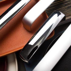 Ручка-скоба S-4090  224 мм, хром