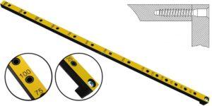 Мебельный кондуктор шаг 25/50, диаметр втулки 5 мм