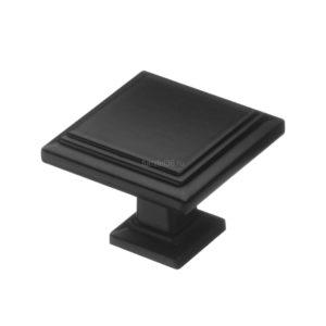 Ручка-кнопка, RK-105, матовый черный