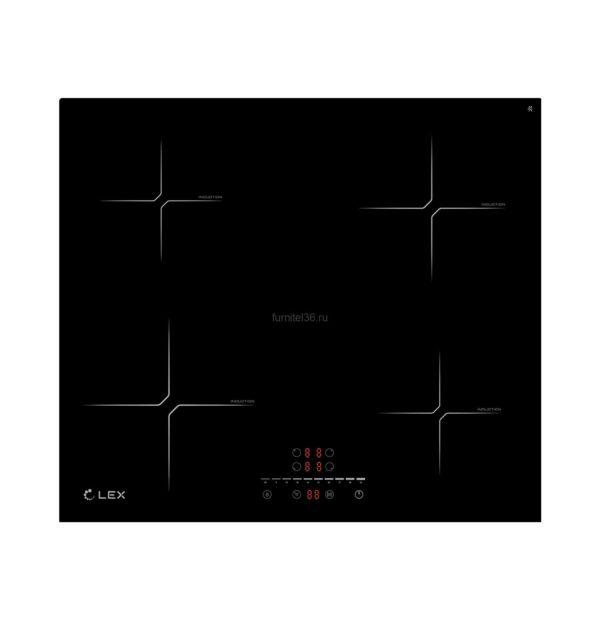 LEX EVI 640-2 BL Индукционная варочная поверхность